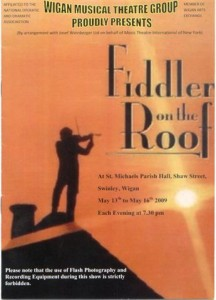 2009 - Fiddler on the Roof