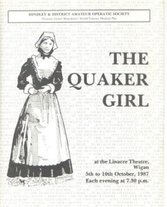1987 - The Quaker Girl