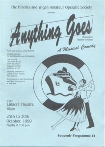 1999 - Anything Goes