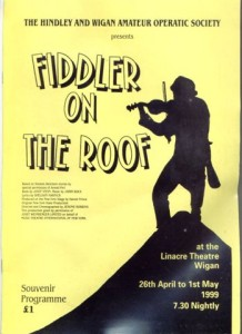 1999 - Fiddler on the Roof