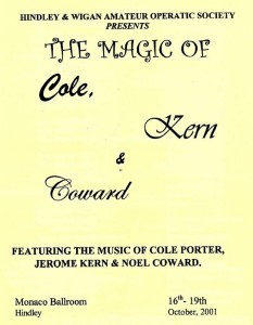 2001 - The Magic of Cole, Kern & Coward