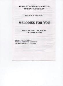 1996 Melodies for You
