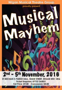 2016 - Musical Mayhem