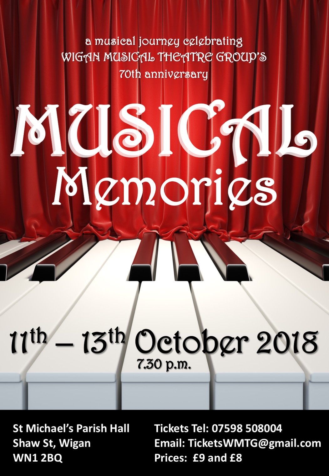 2018 - Musical Memories Celebrating our 70th Year
